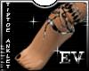 EV Chained Tip toe Heel
