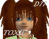 D77 Toxic Hair-Rojizo