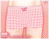 *A Pink Tartan Shorts