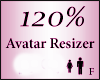 Avatar Resize Scaler 120