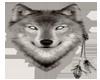 Transparent Spirit Wolf