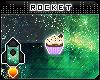 {R} Cupcake Badge