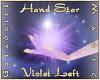 Hand Star (Violet Left)