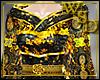 Empress Black/Gold Gown