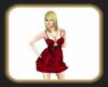 red valentines dress