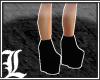 *Dy} Plain Blk Boots.8.2