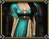 ~E- Juliet Gown Teal