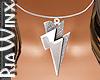 Lightning Bolt Silver