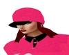 Pink n Black cap