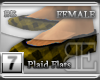 [BE] YellowPlaid|Flats F