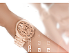 Rose Gold Watch Quartz