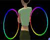 Rainbow Rave Hoops