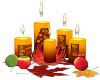 Fall Coll Candles {DER}