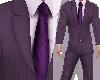 Purple Pin Striped PSPT