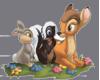Thumper, Flower, & Bambi