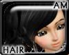 [AM] Doll Black Hair