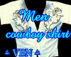 Man cowboy shirt