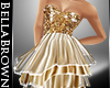BB Gold Sequin Dress