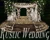 Rustic Wedding Gaz/Poses