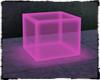 *L* Neon Cube Pnk.