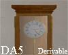(A) Upright Glass Clock