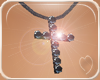 !NC Black Cross Pendant