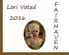 LF Lori Voted 2016
