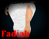 Cotton White skirt
