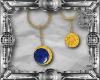 Glorious Blue Earrings