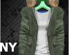 [NY] Stem Coat Grn