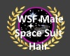 wsf spacesuit Male hair