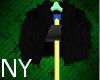 [NY] Fur Black Coat