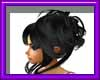 (sm)black updo style@
