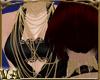 VA~ Strung Gold Necklace
