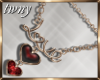 Carmine Love Necklace