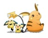 Raichu and Pichu