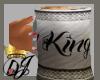 (QJ)#1 KING MUG