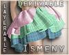 [Is] Skirt 3 Layers Drv
