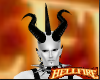 { M } PVC Demon Horns