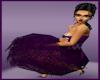 Fantazzia Purple Dress