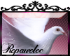 *R*Fantasy Dove Sticker