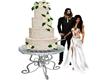 Wedding Cake with Poses