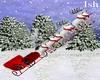 Sleigh Santa Claus