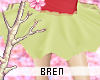 b. green leaf