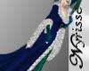 ~N~ Blue Yule Robe