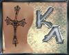 KA- Back Tattoo