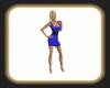 Sarah blue dress