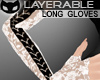 [SIN] Lacy Gloves WhtBlk