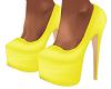 Yellow Xiayina Pumps