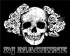 Dj  Machine Skull